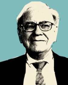 Pintura Pop Art de Warren Buffet